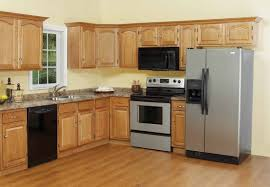 mdf prestige square door winter white kitchens with oak cabinets