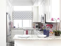 Kitchen Drapery Ideas Small Kitchen Window Treatments Hgtv Pictures U0026 Ideas Hgtv