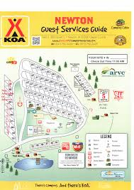 Blank Park Zoo Map by Newton Iowa Campground Newton Koa