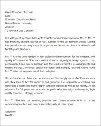 Sample Letter of Recommendation for Residency   Residency Personal