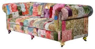 Living Room Modern Sofa Colourful Printed Fabric Sofa Designs - Fabric sofa designs