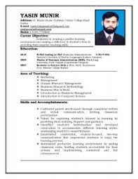 Mba Sample Resume professional resume format download mba