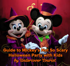 guide to mickey u0027s not so scary halloween party 2017