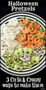 birthday halloween decorations halloween pretzels 3 cute u0026 creepy ways to make them from butter