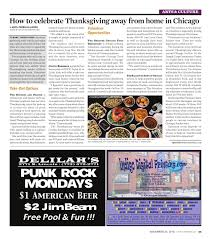 volunteer thanksgiving chicago the columbia chronicle november 23 2015 by student publications