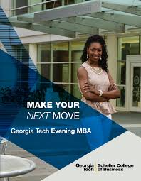 Full time MBA Program at the Georgia Tech Scheller College of     Issuu
