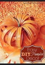 Thanksgiving Pumpkin Decorating Ideas Best 20 Canning Ring Pumpkin Ideas On Pinterest Canning Lid