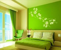 Green Decorating Elements Are Easy To Use And Help In Creates A - Bedroom colors decor
