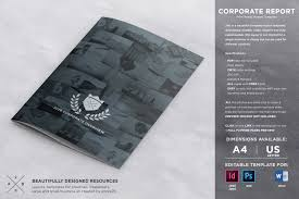 business trip report template pdf how to design brilliant brochures using templates creative corporate brochure report template
