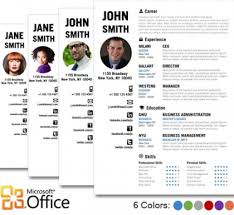 microsoft office resume templates download    open office