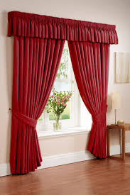 cozy image of bedroom decoration with various bedroom curtain and