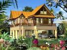 แบบบ้านทรงไทยประยุกต์สวยงามร่วมสมัย | homedec.in.th บ้าน
