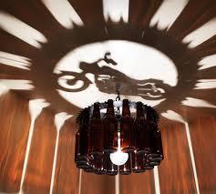 Living Lighting Home Decor Motorcycle Bottle Light Chandelier Gift Harley