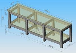 Plans For Building A Wooden Workbench by Build A Workbench For A Milling Machine
