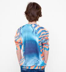 orange shark sweater for kids mr gugu u0026 miss go