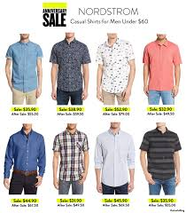 nordstrom thanksgiving sale nordstrom anniversary sale casual shirts for men under 60