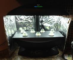 diy aerogarden reflector power grow light booster 3 steps