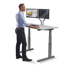 standing workstation electric adjustable height desk