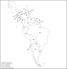 South America Map And Capitals by South And North America Map Roundtripticket Me