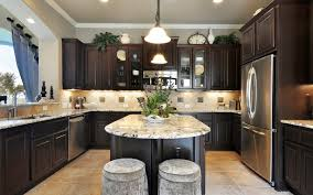Dark Kitchen Cabinets With Backsplash Wooden Access Door Storage Ideas Dark Kitchen Cabinets Granite