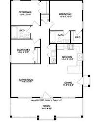 Small House Building Plans Long Narrow House With Possible Open Floor Plan For The Home