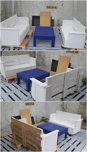 Patio Furniture Wood Pallets - imaginative ideas with old shipping pallets recycled things