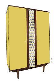 armoire vintage enfant armoire vintage luce croquis de relooking par lilibroc
