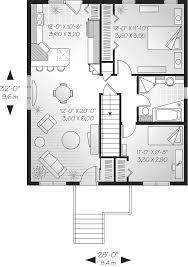 windfall split level home plan 032d 0540 house plans and more