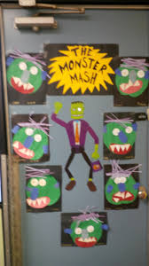 the monster mash halloween door decoration for your classroom