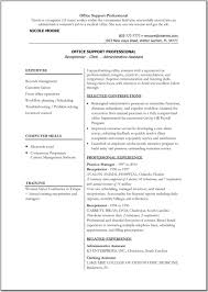 Best Tech Resume by Skills In Information Technology Resume Resume Template Tech