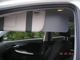amazon com gray set of visormates side window sun visor