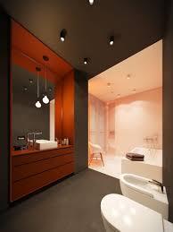 bathroom contemporary home design ideas arranged with a gray and