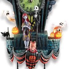 the nightmare before christmas cuckoo clock hammacher schlemmer