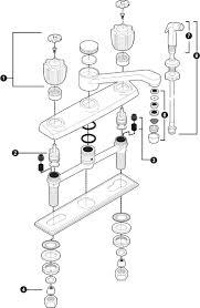 Glacier Bay Kitchen Faucets Parts Repair Kitchen Sink Faucet Best Faucets Decoration
