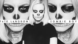 halloween makeup zombie boy tate langdon ahs stayclassy