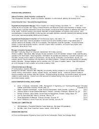 Resume Sample For Human Resource Position by Human Resource Resume 2 Senior Human Resources Manager Resume Hr