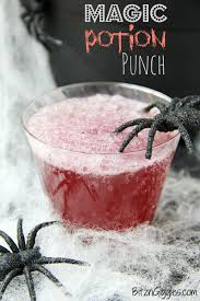 a magical punch that fizzes and bubbles when you add the secret