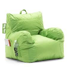 Big Joe Lumin Camo Bean Bag Chair Amazon Com Big Joe Dorm Chair Spicy Lime Kitchen U0026 Dining