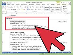 Ms Word Sample Resume by Cozy Design Resume Word 13 How To Create A Resume In Microsoft