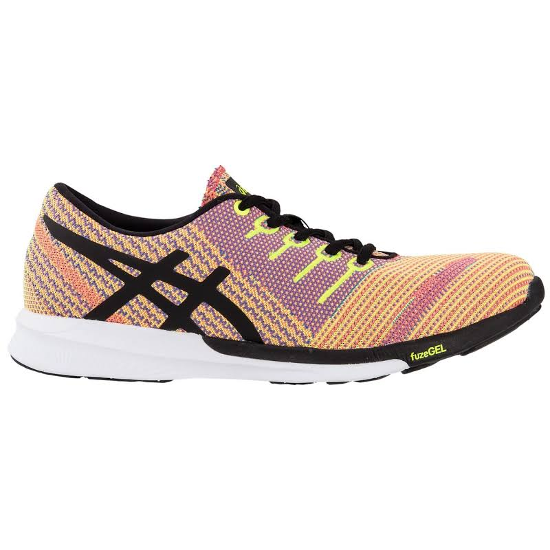ASICS Fuzex Knit Running Shoes Orange- Womens