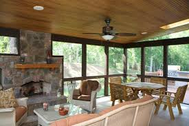 Simple Covered Patio Designs by Raleigh Durham Porch Builder