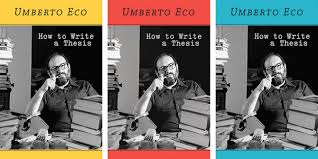 Book Review  How to Write a Thesis by Umberto Eco   LSE Review of     LSE Blogs Book Review  How to Write a Thesis by Umberto Eco   LSE Review of Books
