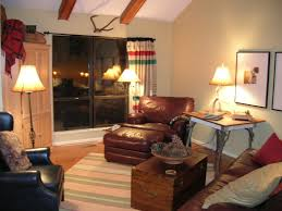 Lodge Living Room Decor by Lodge Look Living Room Hudson Bay Blanket As Drape Room Decor