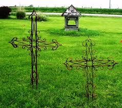 wrought iron crosses