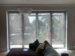 sunscreen roller blinds in steel supplied and installed by the