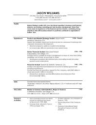 summary resume examples   sample summary for resume