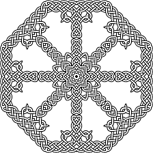 clipart celtic knot octagon