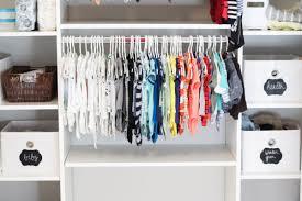 Closet Organizer For Nursery Organization Idea Organize Your Closet With Chalkboard Labels