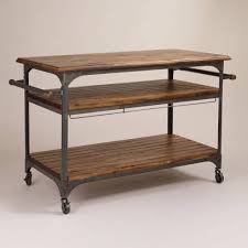 Kitchen Island Oak by Kitchen Carts Kitchen Island With Seating For 3 Unfinished Wood