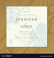 Invite Cards Wedding Invite Cards Royalty Free Vector Image